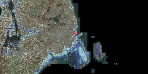 Stomflod og havvand på Lyngbyvej 22, st. , 2100 København Ø