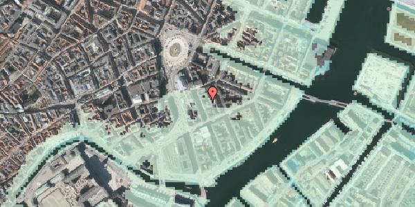 Stomflod og havvand på Tordenskjoldsgade 13A, 1055 København K