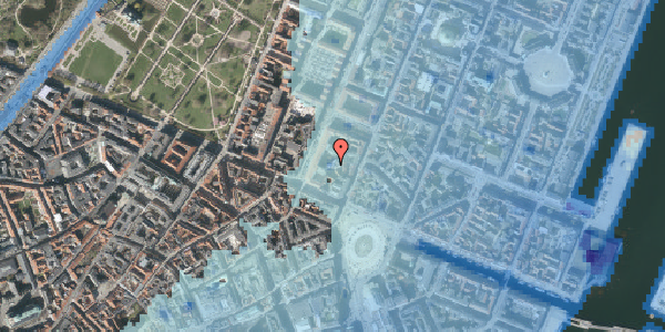 Stomflod og havvand på Gothersgade 8G, st. , 1123 København K