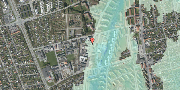 Stomflod og havvand på Arnold Nielsens Boulevard 62B, 1. , 2650 Hvidovre