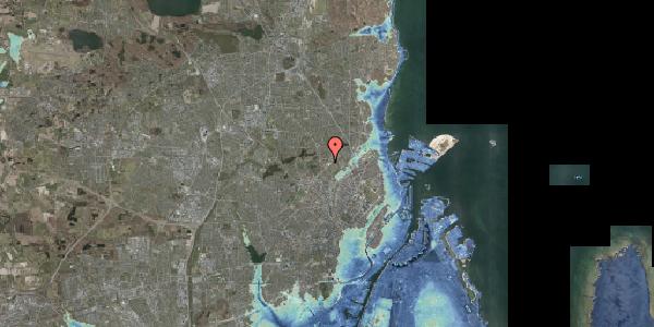 Stomflod og havvand på Peter Rørdams Vej 6, 1. mf, 2400 København NV