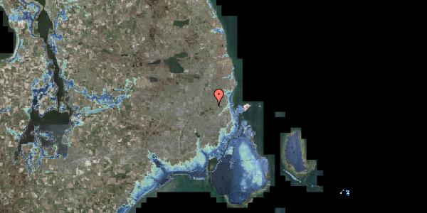 Stomflod og havvand på Højmosevej 1B, 2400 København NV