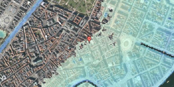 Stomflod og havvand på Pilestræde 35A, st. , 1112 København K