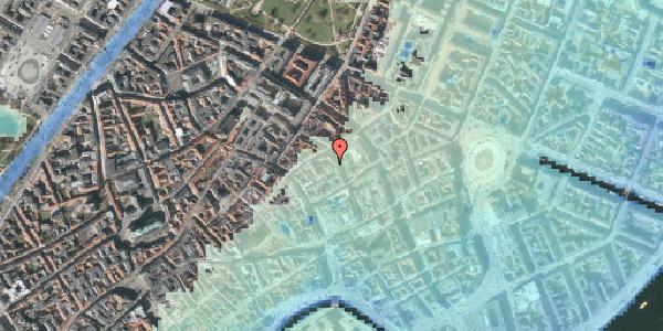 Stomflod og havvand på Pilestræde 35D, 3. , 1112 København K
