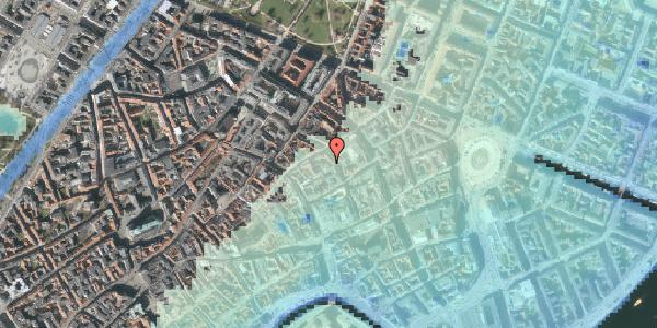 Stomflod og havvand på Pilestræde 35D, st. , 1112 København K