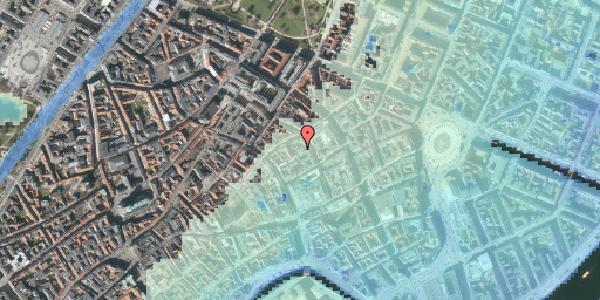 Stomflod og havvand på Pilestræde 35E, kl. , 1112 København K