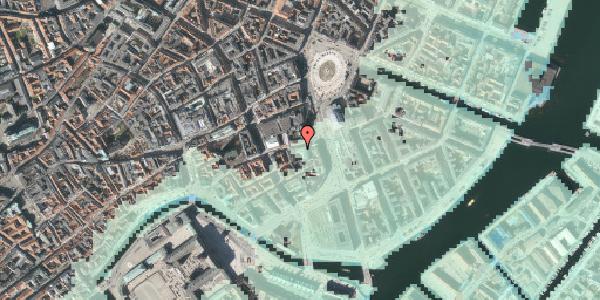 Stomflod og havvand på Vingårdstræde 3, 4. , 1070 København K