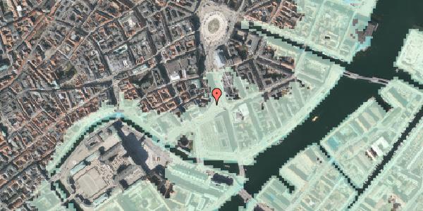 Stomflod og havvand på Holmens Kanal 10B, 1060 København K