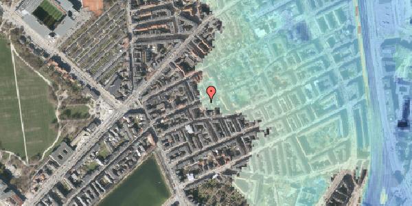 Stomflod og havvand på Rosenvængets Allé 20A, 4. mf, 2100 København Ø