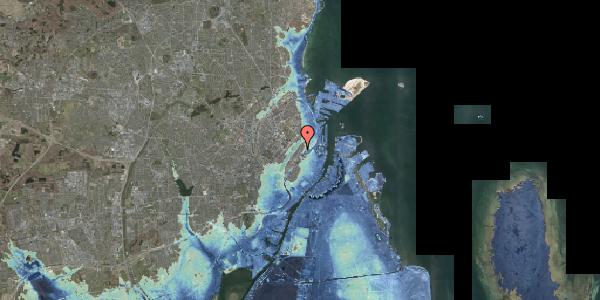 Stomflod og havvand på Høyensgade 1, 1. , 2100 København Ø