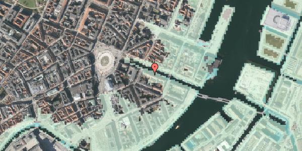 Stomflod og havvand på Nyhavn 12, 1. , 1051 København K