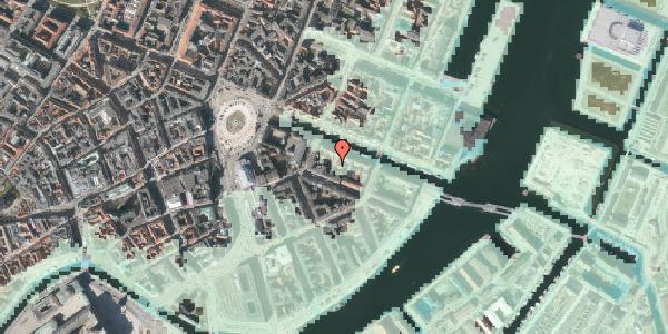 Stomflod og havvand på Nyhavn 12A, 3. th, 1051 København K