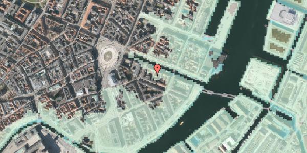 Stomflod og havvand på Nyhavn 12A, 4. th, 1051 København K