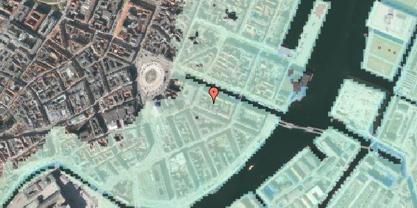 Stomflod og havvand på Nyhavn 12C, st. , 1051 København K