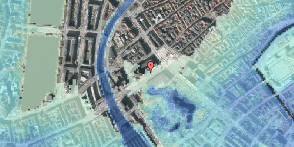 Stomflod og havvand på Vesterbrogade 2B, 1620 København V