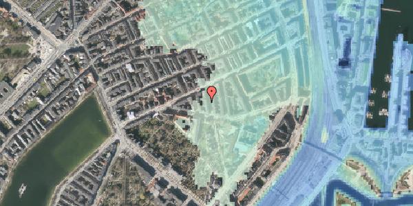 Stomflod og havvand på Lipkesgade 5A, kl. 20, 2100 København Ø