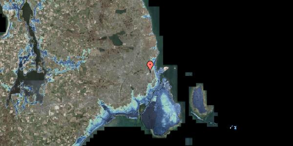 Stomflod og havvand på Bispebjerg Bakke 23, 2400 København NV
