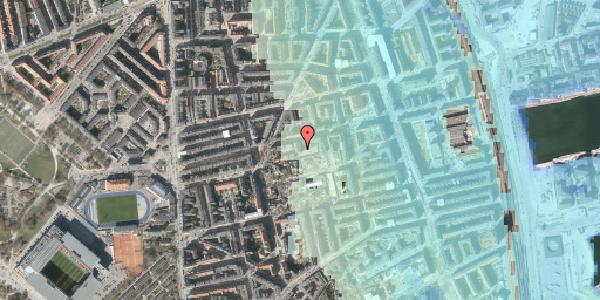 Stomflod og havvand på Viborggade 70C, 1. , 2100 København Ø