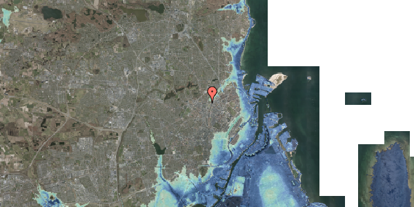 Stomflod og havvand på Lygten 18A, 1. , 2400 København NV