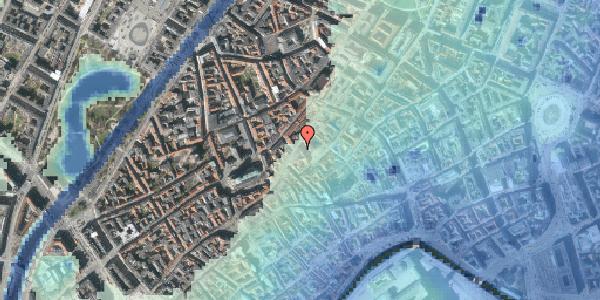 Stomflod og havvand på Kejsergade 1, 1155 København K