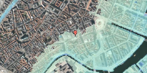 Stomflod og havvand på Østergade 46, 1. , 1100 København K