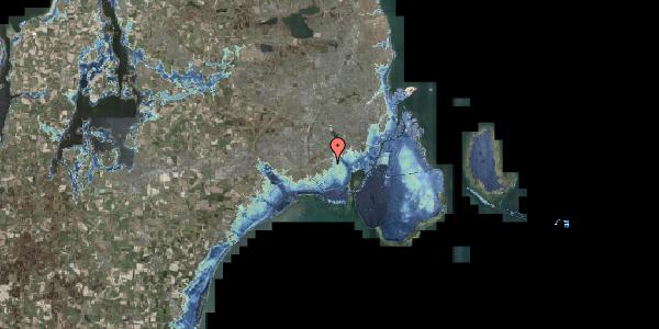 Stomflod og havvand på Hf. Svarø 53, 2650 Hvidovre