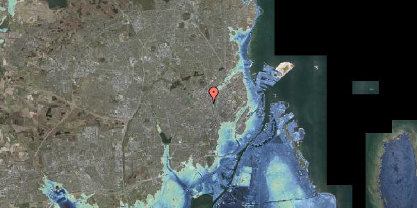 Stomflod og havvand på Hejrevej 34B, 2400 København NV
