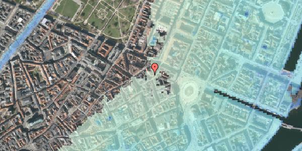 Stomflod og havvand på Ny Østergade 14, 2. , 1101 København K