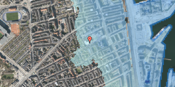 Stomflod og havvand på Rosenvængets Hovedvej 33, 2. , 2100 København Ø