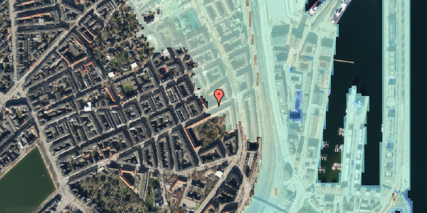 Stomflod og havvand på Classensgade 61, 6. tv, 2100 København Ø