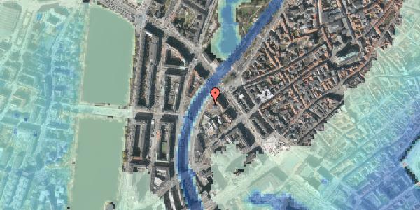 Stomflod og havvand på Hammerichsgade 14, 1. , 1611 København V