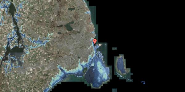 Stomflod og havvand på Sølundsvej 8A, 2100 København Ø
