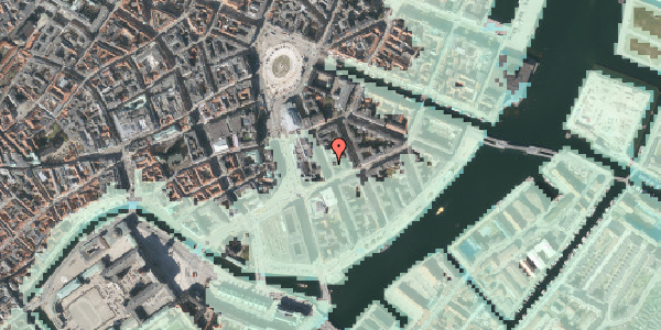 Stomflod og havvand på Tordenskjoldsgade 17, 4. tv, 1055 København K