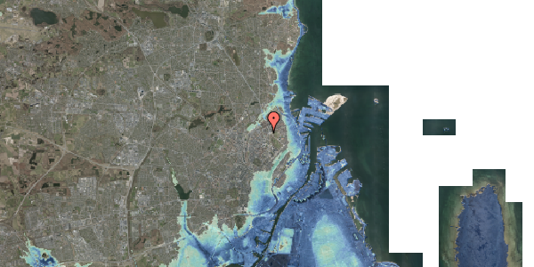 Stomflod og havvand på Aldersrogade 11, 4. , 2100 København Ø