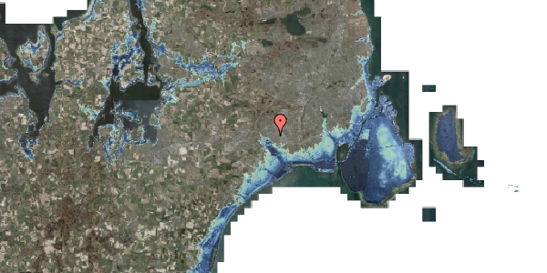 Stomflod og havvand på Løkkekrogen 3, 2625 Vallensbæk