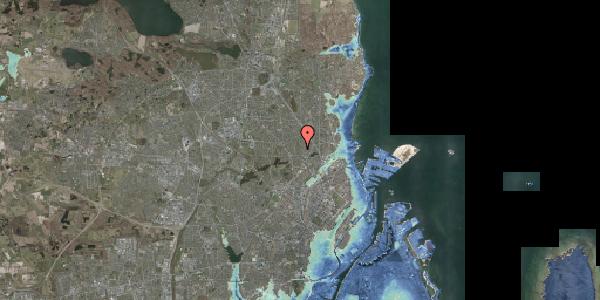 Stomflod og havvand på Rødhalsgangen 25, 2400 København NV
