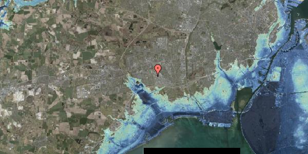 Stomflod og havvand på Park Alle 390, 2625 Vallensbæk