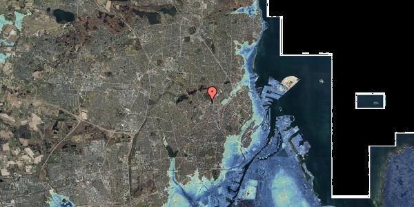 Stomflod og havvand på Dortheavej 32C, 2400 København NV