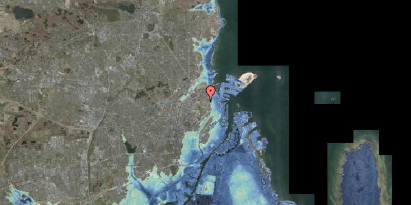 Stomflod og havvand på Serridslevvej 14A, kl. , 2100 København Ø