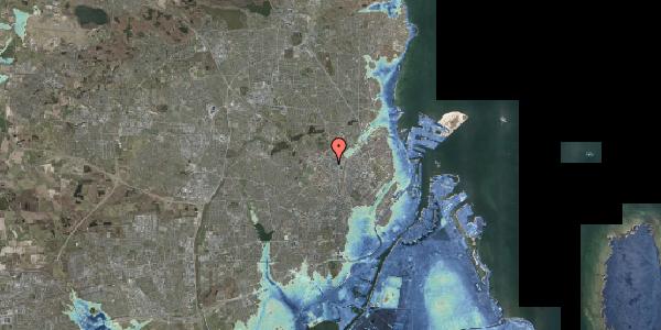 Stomflod og havvand på Glasvej 21, 2400 København NV