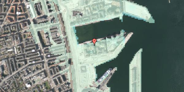Stomflod og havvand på Marmorvej 15A, 2. th, 2100 København Ø