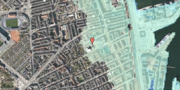 Stomflod og havvand på Rosenvængets Hovedvej 35, st. , 2100 København Ø