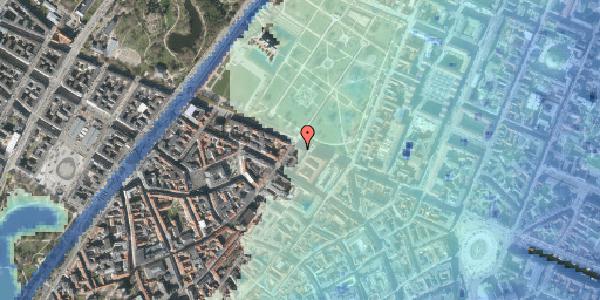 Stomflod og havvand på Gothersgade 55, 3. , 1123 København K