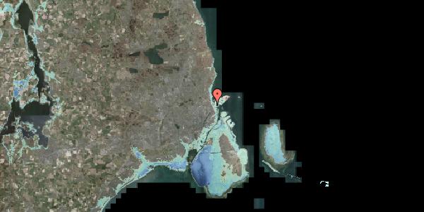 Stomflod og havvand på Svendborggade 1, 6. 616, 2100 København Ø