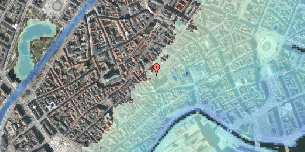 Stomflod og havvand på Valkendorfsgade 22, 1151 København K