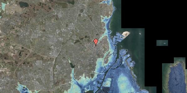 Stomflod og havvand på Bygmestervej 61, 2400 København NV