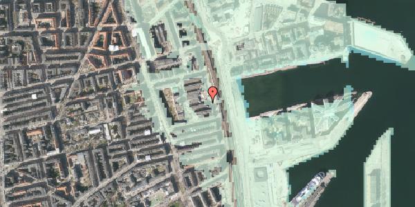 Stomflod og havvand på Østbanegade 127, 2100 København Ø