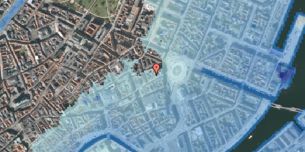 Stomflod og havvand på Østergade 16A, 2. th, 1100 København K