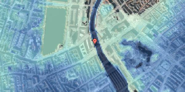 Stomflod og havvand på Vester Farimagsgade 4, 5. , 1606 København V