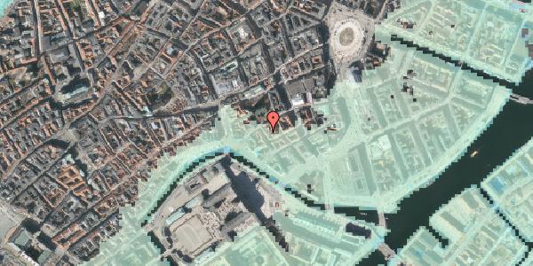 Stomflod og havvand på Admiralgade 17, 3. tv, 1066 København K